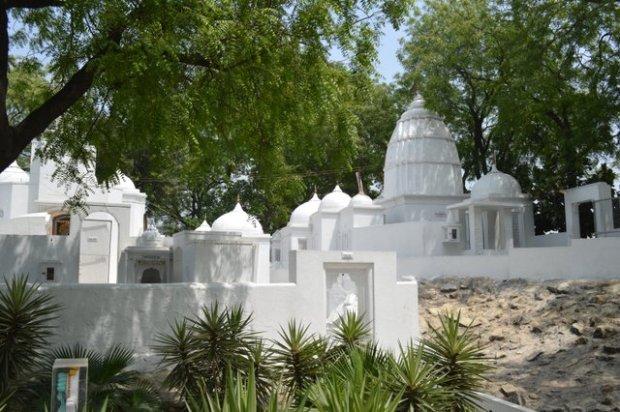 A temple in Delhi