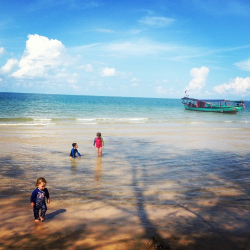 Sihanoukeville in Cambodia